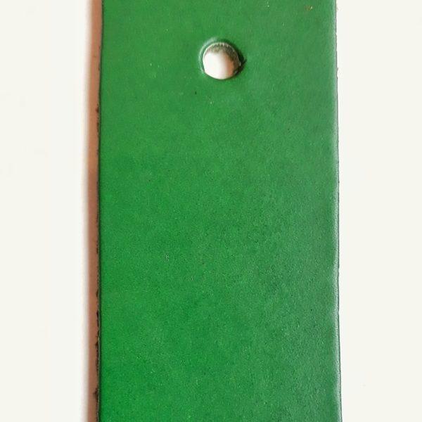 cuir végétal vert