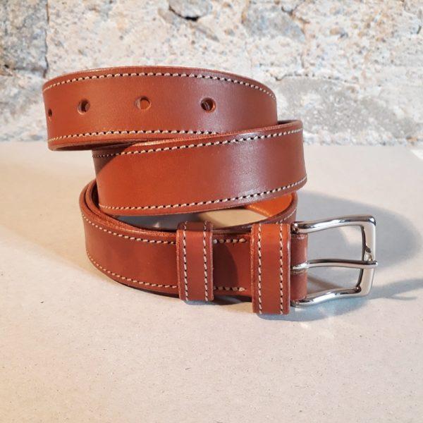 ceinture cognac solde 1