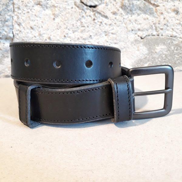 ceinture cuir noir 30 mm-10