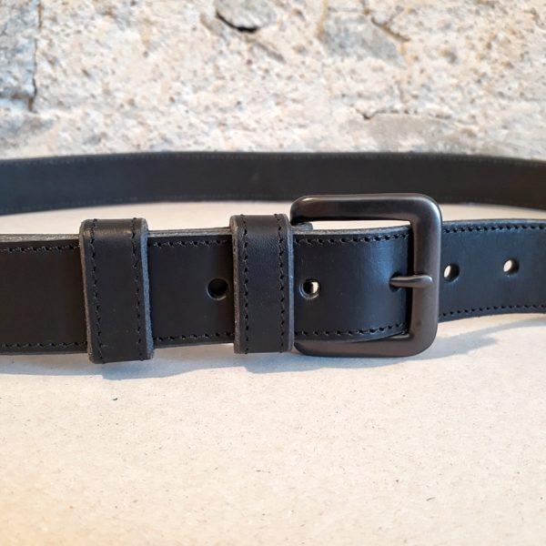 ceinture cuir noir 30 mm-11
