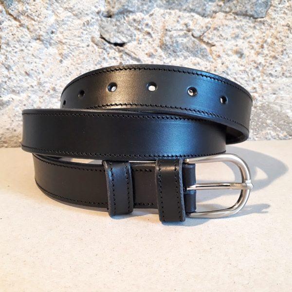 ceinture cuir noir 30 mm-2