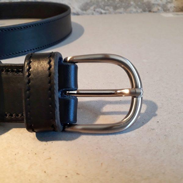 ceinture cuir noir 30 mm-4