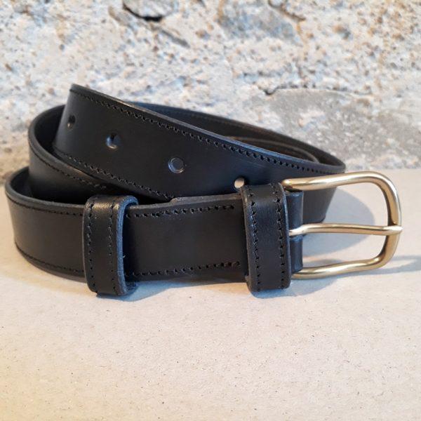 ceinture cuir noir 30 mm-6