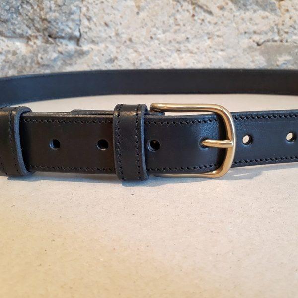ceinture cuir noir 30 mm-7
