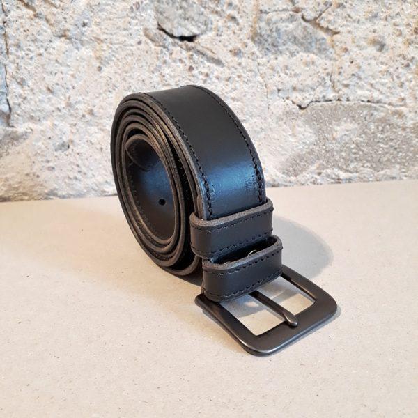 ceinture cuir noir 30 mm-9